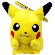 Pokemon ShoPro 3 Inch Keychain Pikachu Plush Keychain (BanPresto)