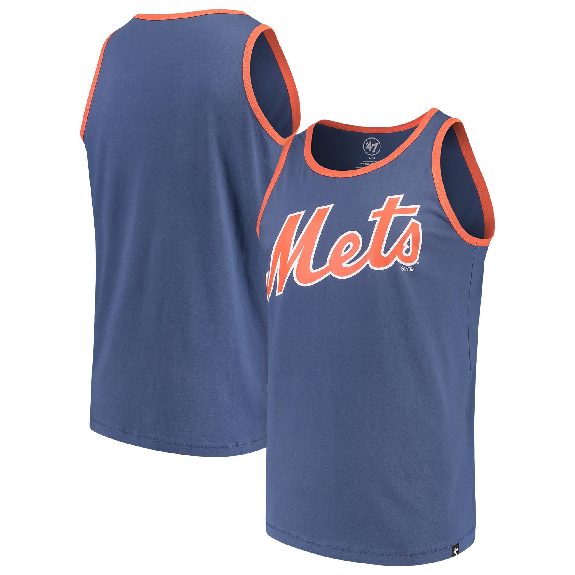 New York Mets '47 Wordmark Crosstown Tank Top - Royal