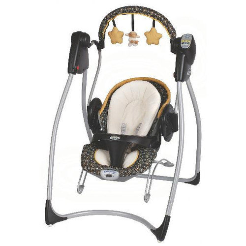 Graco Swing N Bounce 2-in-1 Infant Swing with Plug
