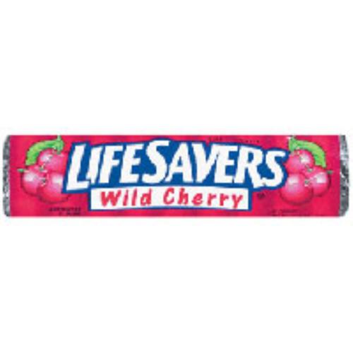 Lifesavers Wild Cherry Candy 20 pack (14 ct per pack) (Pack of 2)