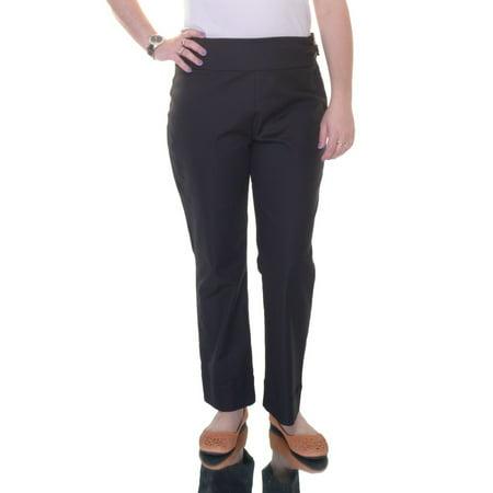 inc international concepts deep black pants  size 8 nwt - movaz