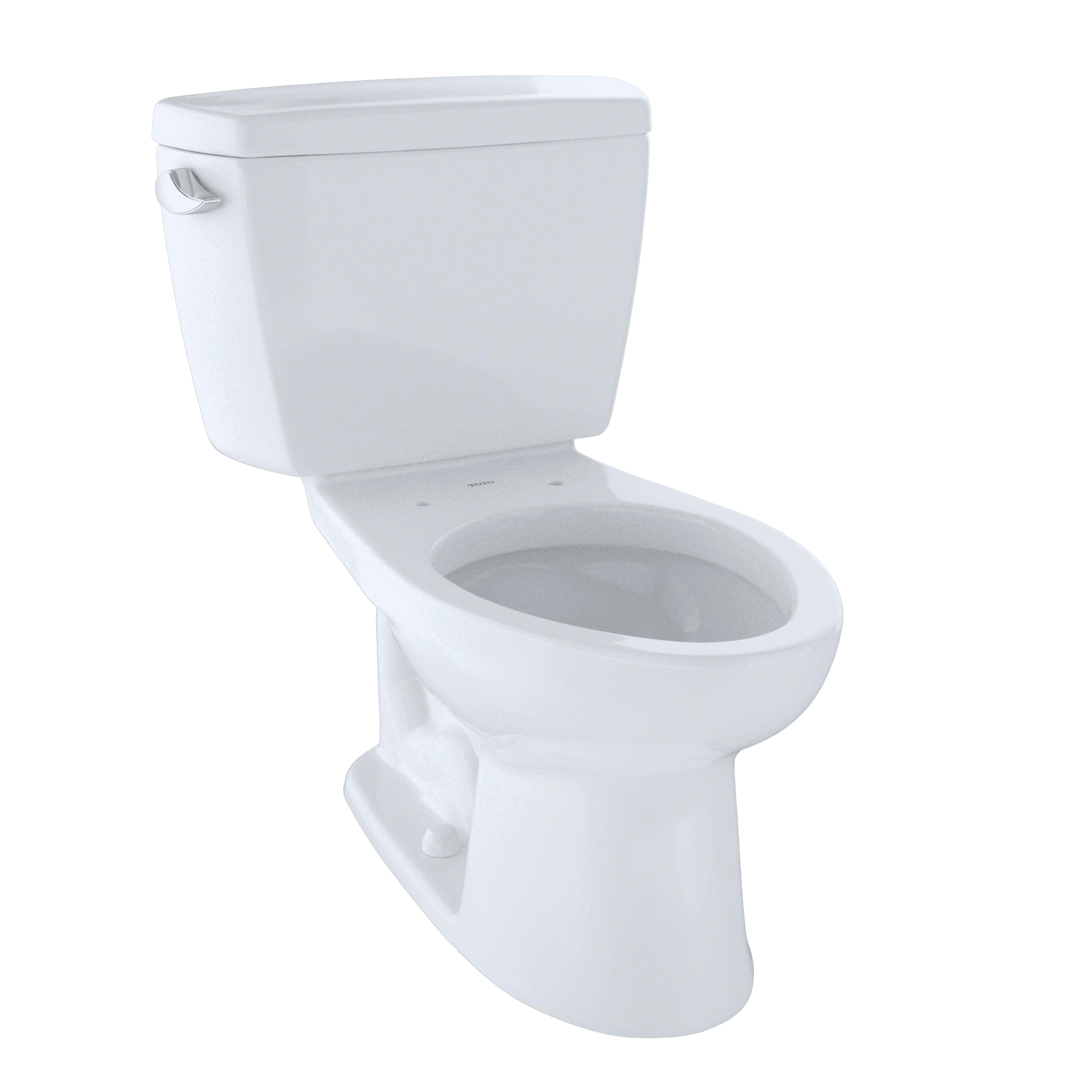 TOTO® Drake® Two-Piece Elongated 1.6 GPF ADA Compliant Toilet ...