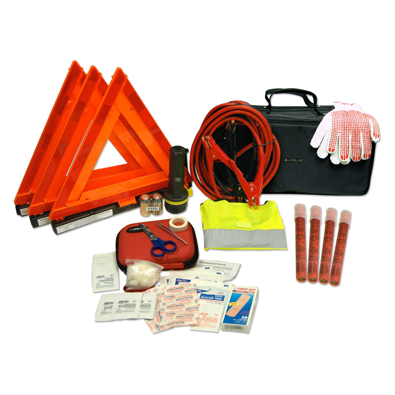 Lifeline Truck Road First Aid Kit - 67 Pieces