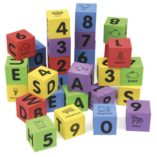 Chenille Kraft Company WonderFoam ABC Blocks Set