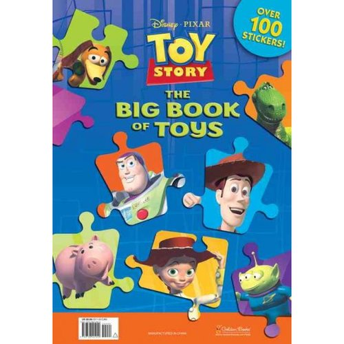 Toy Story: The Big Book of Toys [With Over 100 Stickers]