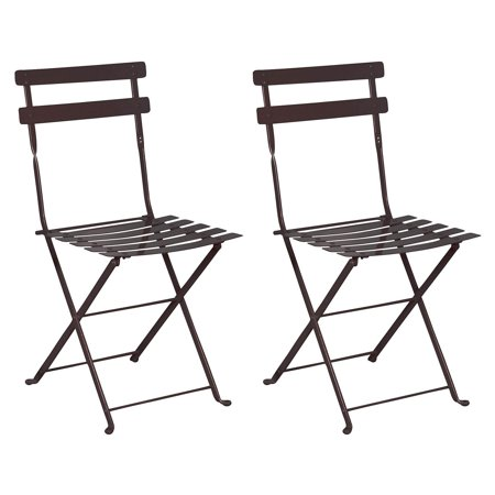 Awe Inspiring Furniture Designhouse French Veranda European Cafe Folding Side Chair Set Of 2 Caraccident5 Cool Chair Designs And Ideas Caraccident5Info