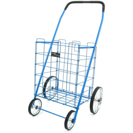Easy Wheels Mitey Shopping Cart, Blue, 1ct