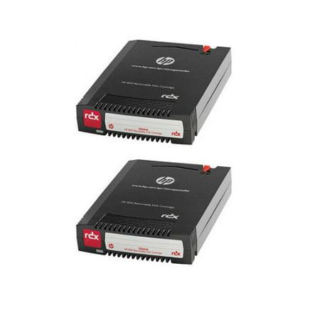 HPE - RDX x 1 - 2 TB - storage media (2-Pack) HP 2 TB 2.5