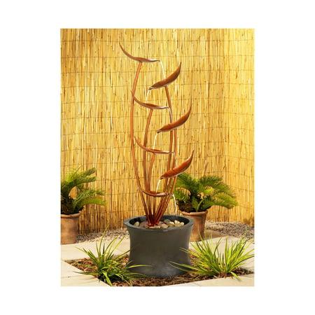 John Timberland Rustic Modern Outdoor Floor Water Fountain 41