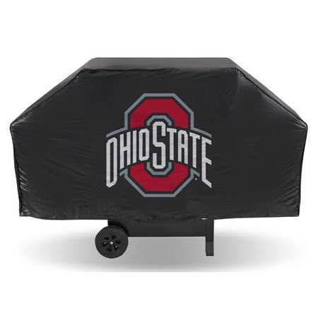 Ohio State Buckeyes Grill Cover (Rico Industries Ohio Vinyl Grill Cover )