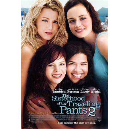 Sisterhood Of The Traveling Pants 2 Poster Movie  27X40