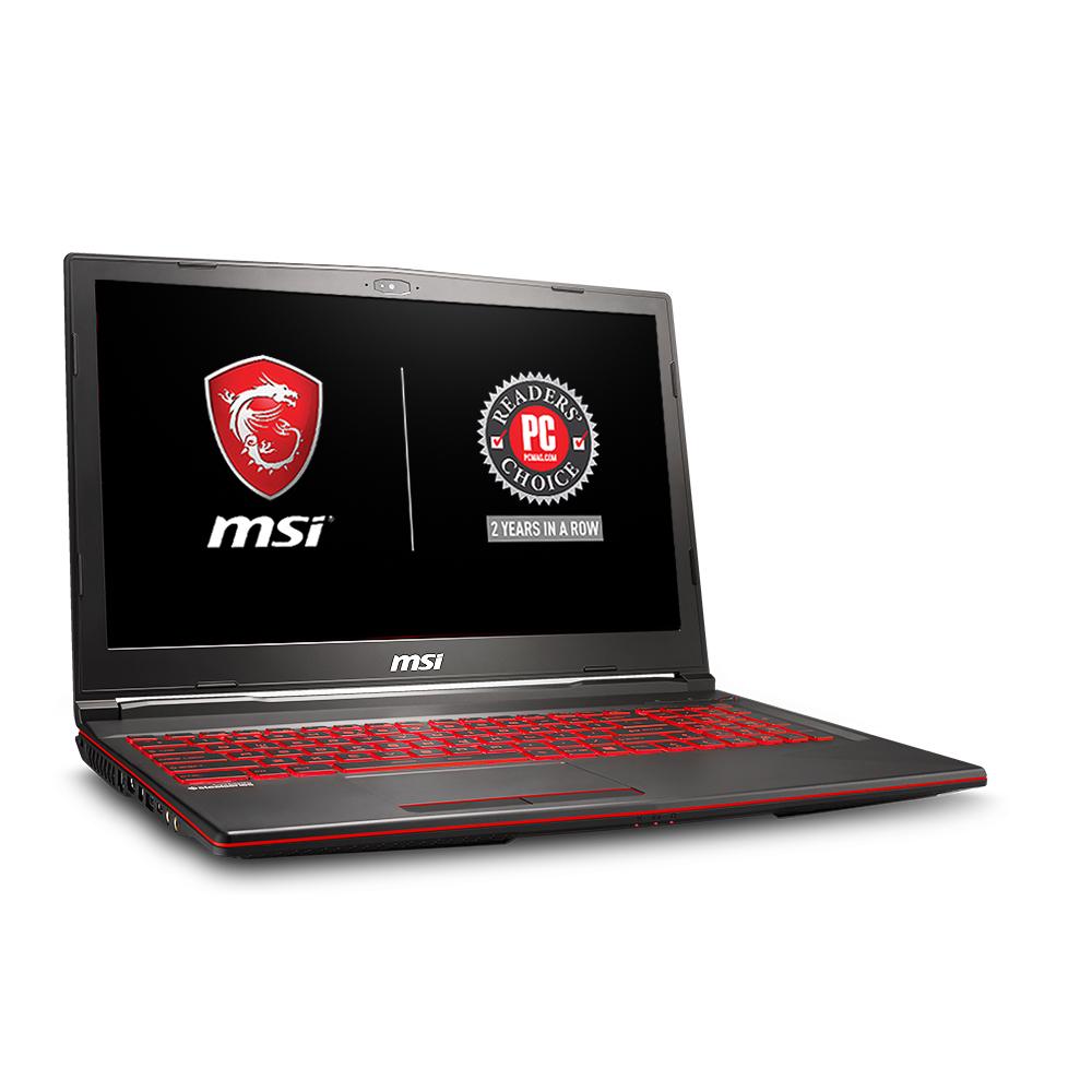 "MSI GL63 8RC-664US Performance Gaming Laptop 15.6"" Intel Core i5-8300H, NVIDIA GeForce GTX 1050 2G, 1TB HDD, 8GB RAM, WIN 10, GL63664US"