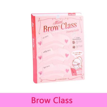 7b70d9c6e Yosoo Eye Brow Class 3pcs Set Magic Eye Brow Class Drawing Guide