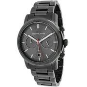 Michael Kors  Men's MK8371 Pennant Gunmetal Grey Stainless Steel Watch