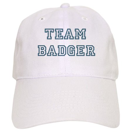 CafePress - Team Badger - Printed Adjustable Baseball Cap - Walmart.com ad775ca6bf3e