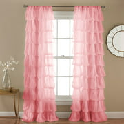 Olivia Window Curtains, Pink