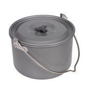 【NEW SALE】Outdoor Picnic Large Hanging Pot 6-8 People Camping Super Large Single Pot Lightweight Quick Heating Pot