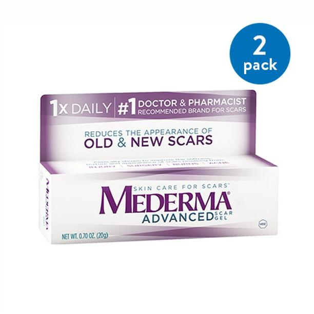 2 Pack Mederma Advanced Scar Gel 1 76 Oz Walmart Com Walmart Com