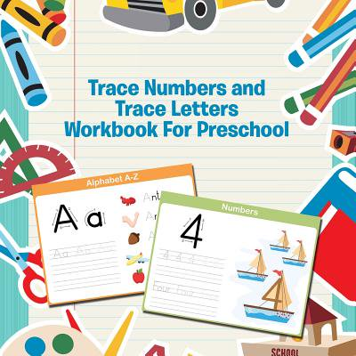 Trace Numbers and Trace Letters Workbook for Preschool - Halloween Craft For Preschool Class