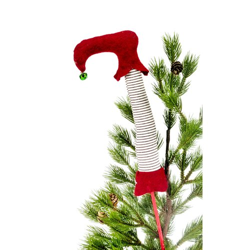 The Holiday Aisle Whimsical Elf Boot Tree Topper