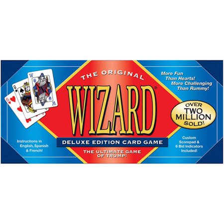 Wizard Card Game Deluxe Edition ()