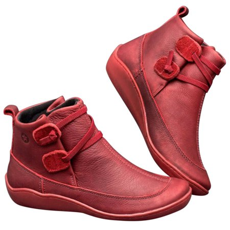 women autumn arch support boots multi colors casual