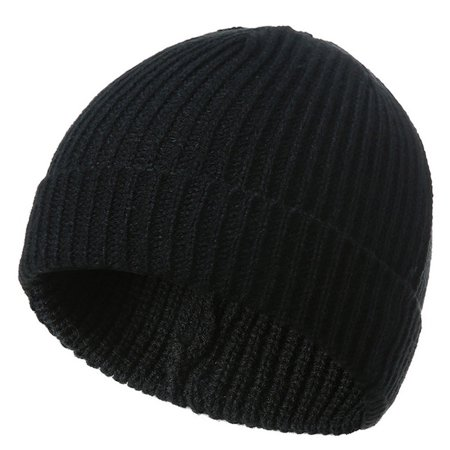 SHOPFIVE Skull Cap Beanie Hat Chunky Knit Winter Hats Warmer Gift Ski Work Beauty