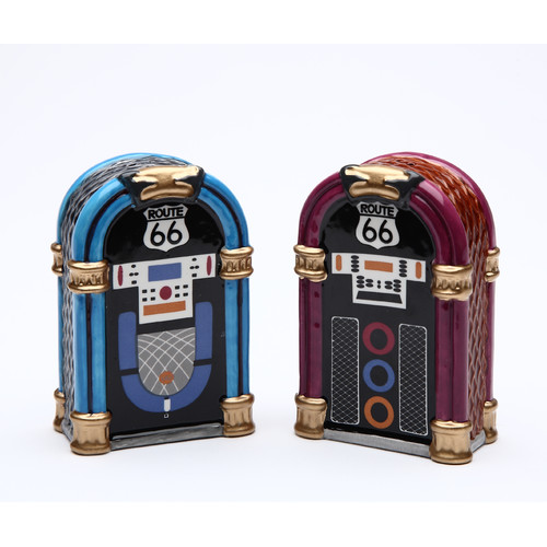 Cosmos Gifts Juke Box Salt and Pepper Set
