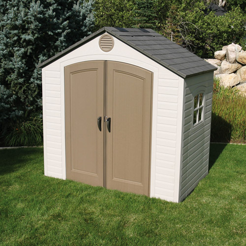 Lifetime 8' x 5' Outdoor Storage Building, 6406 by Lifetime Products