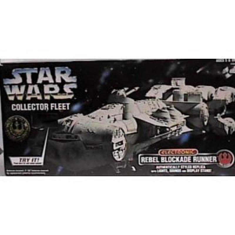 Star Wars Collector Series Electronic Rebel Blockade Runner Ship by
