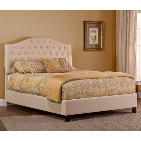 hillsdale furniture jamie queen upholstered bed with bedframe - Queen Upholstered Bed Frame