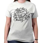 Sun Always Shine Cute Shirt Cool Gift Idea Inspirational Edgy T-Shirt Tee