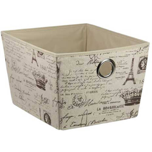 Non-Woven Storage Box, Large Paris