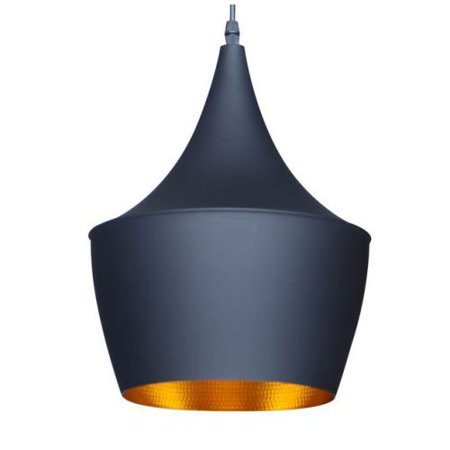 Berkley Black and Gold Single Light Pendant B6001BG - Walmart.com