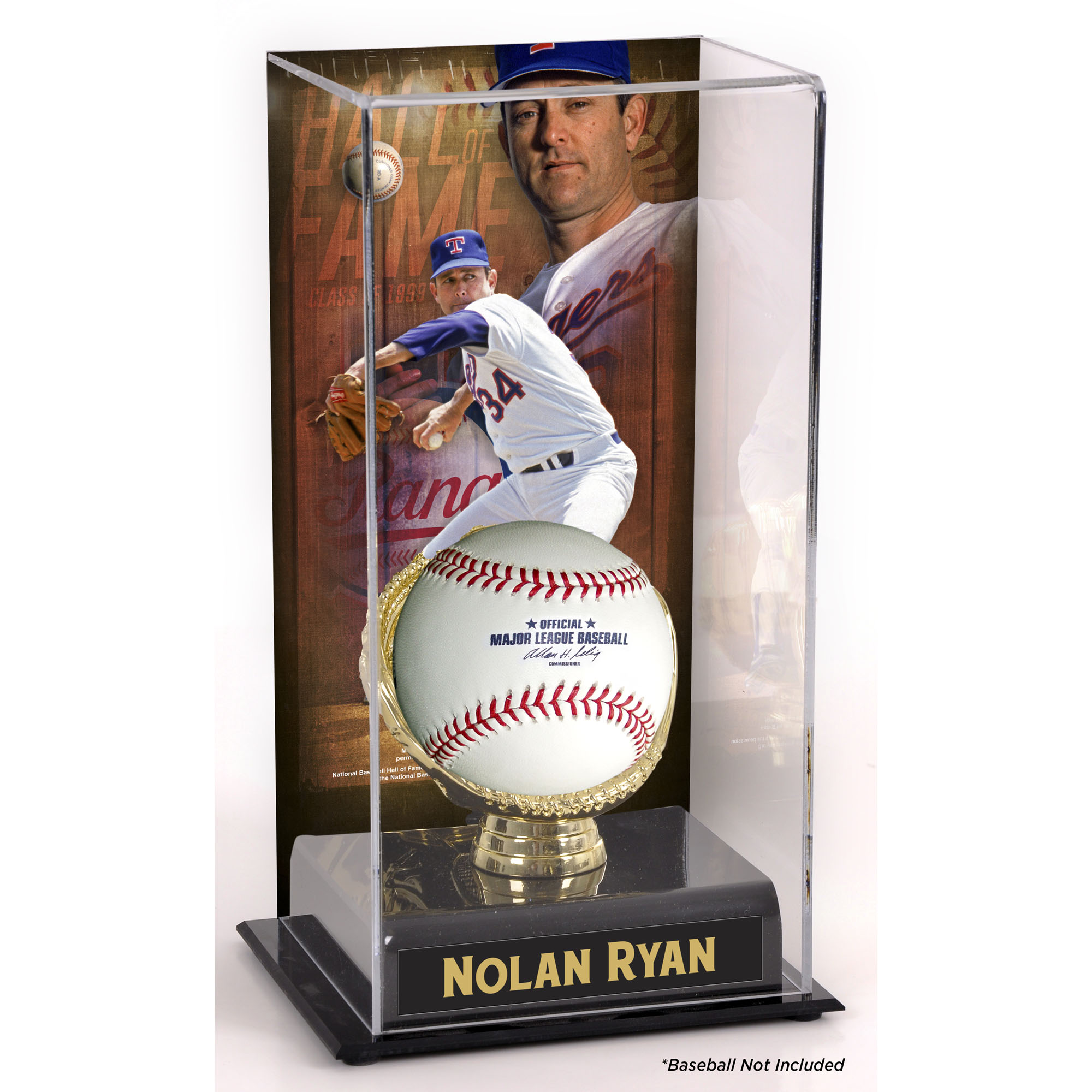 Nolan Ryan Texas Rangers Fanatics Authentic Hall of Fame Sublimated Display Case with Image - No Size