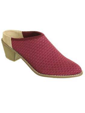 Zee Alexis Womens Michelle Clog Shoes Cranberry 10 M