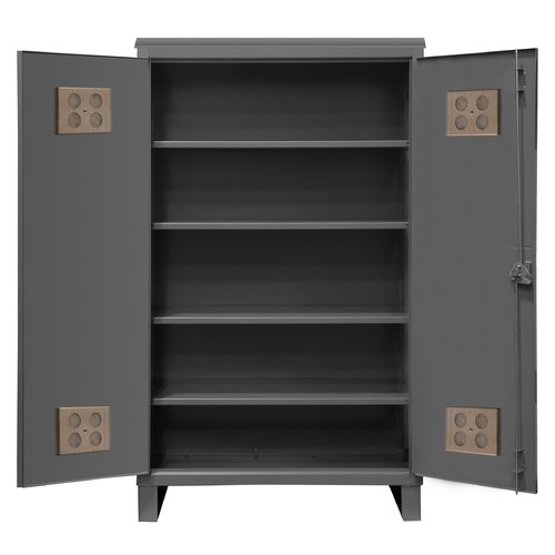 Durham Manufacturing Extra Heavy Duty Welded 12 Gauge Steel Outdoor Shelf Cabinet