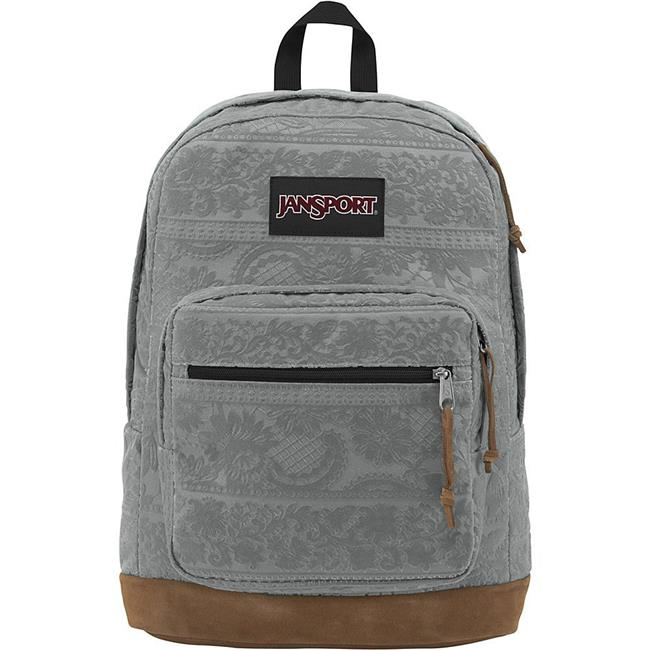 Jansport JS00TZR631Z Right Pack Expressions - Shady Grey Lace Flock