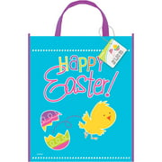 Plastic gift bags large plastic spring chick easter favor bag negle Images