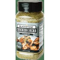 Blackstone Chicken & Herb Seasoning, 6.7 oz  Great on Grilled Chicken