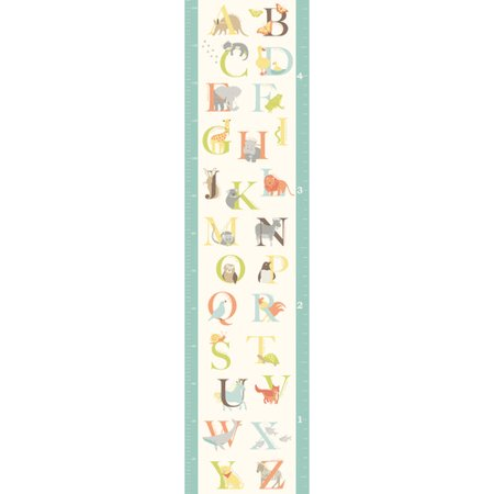 Wallpops Wall Art Kit Abc Jungle Growth Chart Walmart