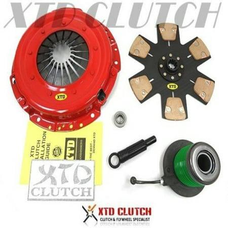 - XTD STAGE 4 RACE CLUTCH KIT 2005-2010 MUSTANG GT BULLITT SHELBY GT 4.6L 281