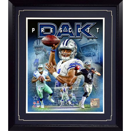 11x14 Deluxe Frame - Dallas Cowboys Dak Prescott Dallas Cowboys Picture Frame
