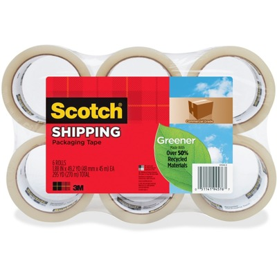 Scotch Commercial-Grade Packaging Tape MMM3750G6