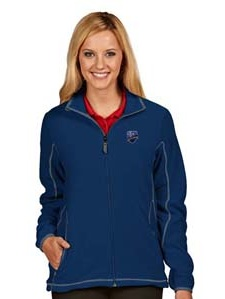 Montreal Impact Womens Ice Polar Fleece Jacket (Color: Royal) by
