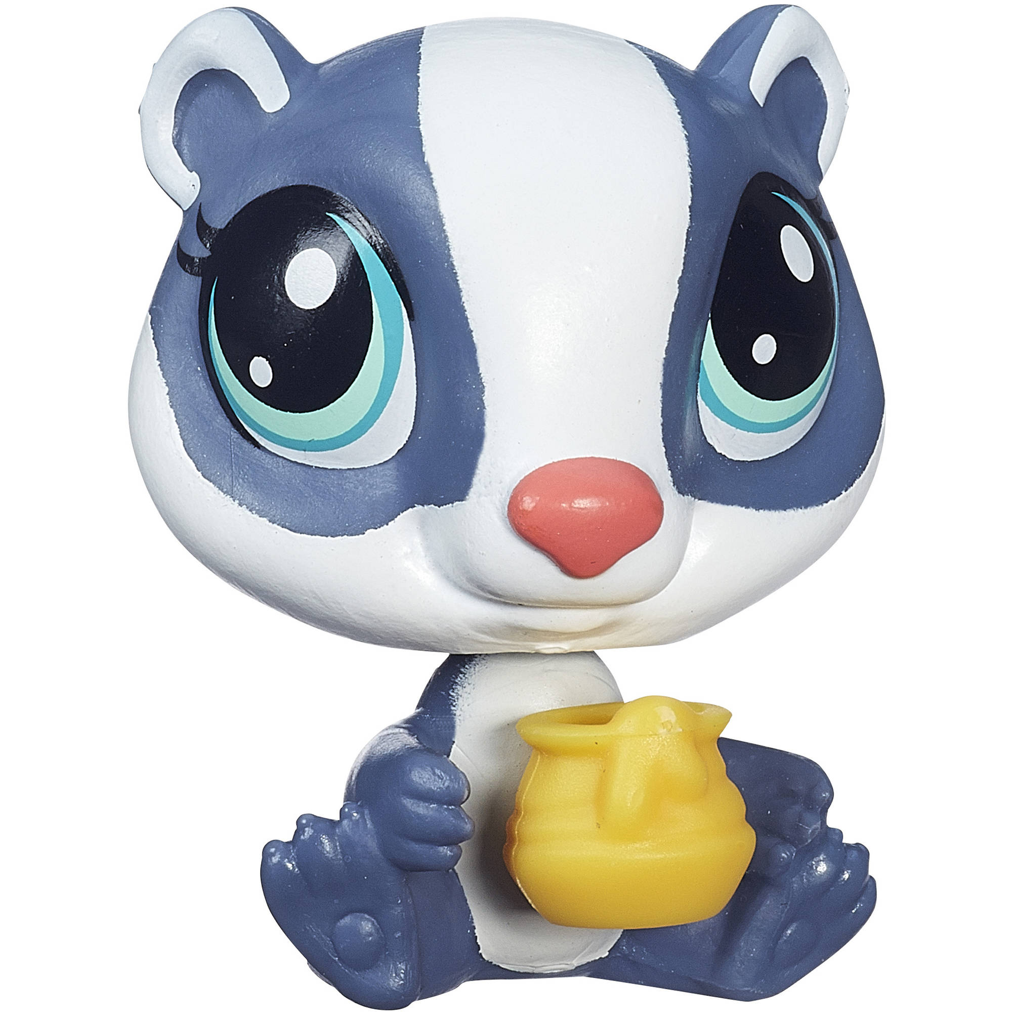 Littlest Pet Shop Get the Pets Single Pack, Honey Badgely