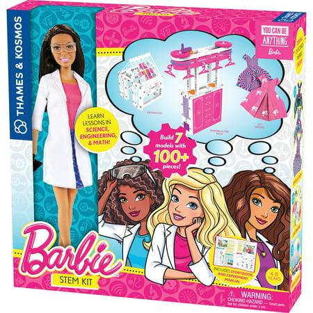 Barbie STEM Kit (with Nikki Scientist Doll) - Halloween Makeup Dolls
