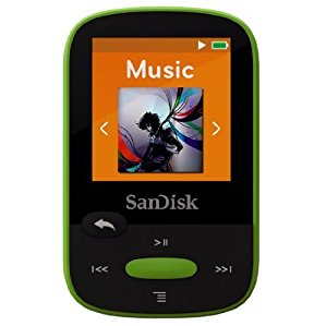 Clip Sport MP3 Player 8G Lime