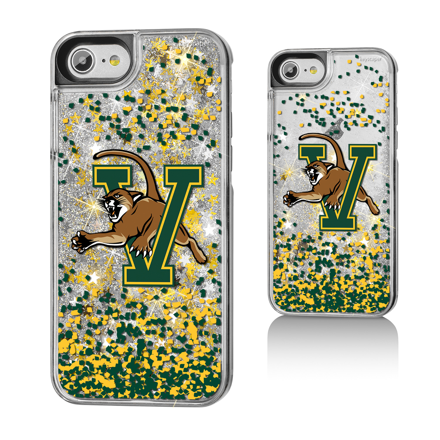 University of Vermont Gold Glitter iPhone 7 Case