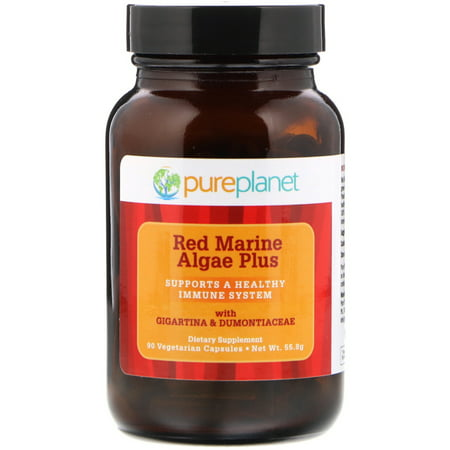 Pure Planet  Red Marine Algae Plus  90 Vegetarian (Pure Planet Green)
